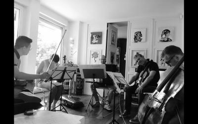 Contet et le quatuor à cordes