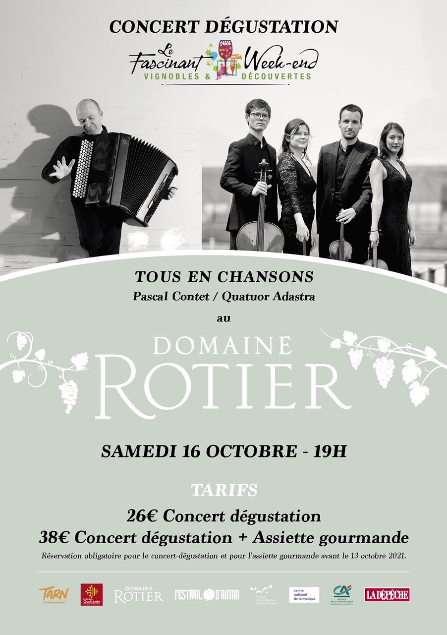 Affiche Domaine du Rotier